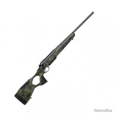 Carabine à Verrou Sako S20 Camo Hunt Flutée Cerakote Filetée - 243 Win