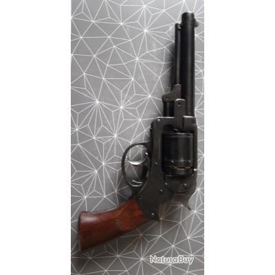 A saisir Exceptionnel revolver starr patent 1856 cal 44 cartouches métalliques en coffret