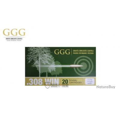 20 MUNITIONS GGG CAL 308 WIN 175 GR HPBT MATCH