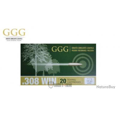 20 MUNITIONS GGG CAL 308 WIN 180 GR HPBT MATCH