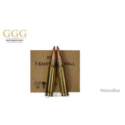 640 MUNITIONS GGG CAL 308 WIN 147 GR  FMJ