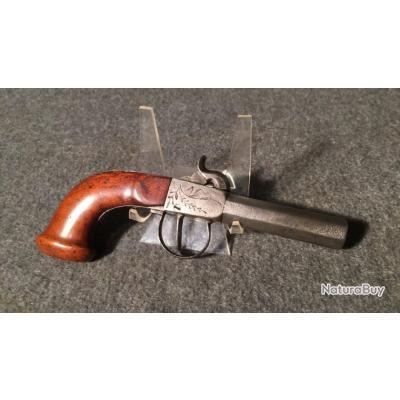 Pistolet coup de poing XIXème