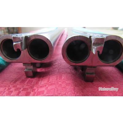1 SUPERBE AFFAIRE  paire de canons neuf cal 12 william powell&son pour juxtaposé a platine