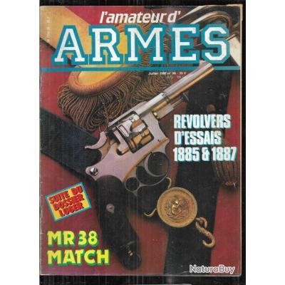 l'amateur d'armes 56 révolvers d'essais 1885 & 1887, p 08 part 3, merkel drilling, buckmaster