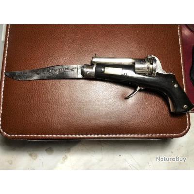 Couteau-revolver Sigaud & Barnerias parfait état