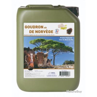 """GOUDRON DE PIN DIT """"DE NORVÈGE"""" 5 Kilos"""