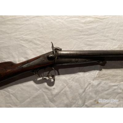 fusil juxtaposé à broches cal 16