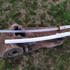 katana Maru véritable sabre forgé à la main en acier 1095 lame aiguisée avec présentoir et coffret