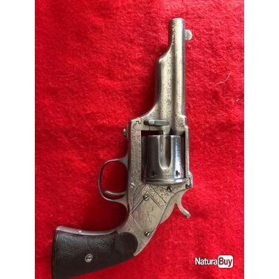 REVOLVER MERWIN HULBERT Gravé 3e Mle Calibre 44 Winchester 1873 - US XIXè U.S.A. XIX eme  cat. D2
