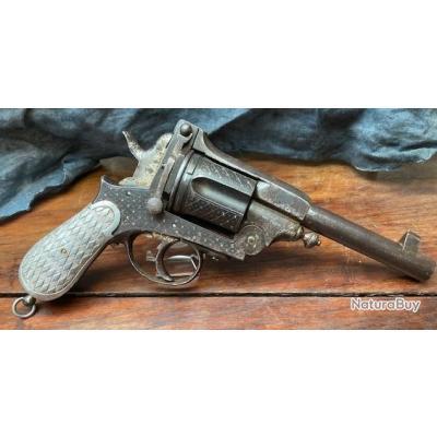 Gros revolver Gasser Montenegrin, calibre 11.5 Gasser PRIX DEPART 1 EURO