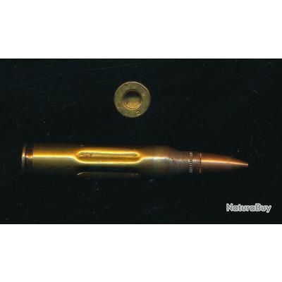 Une fausse cartouche de manipulation calibre .223 5,56x45 USA pour M16 AR15