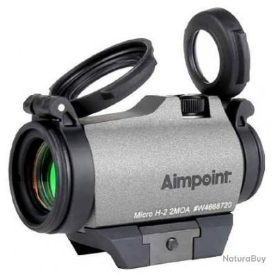 Viseur point rouge Aimpoint Micro H-2 Cerakote Tungstène NEUF  - 1 EUR sans prix de réserve (G)