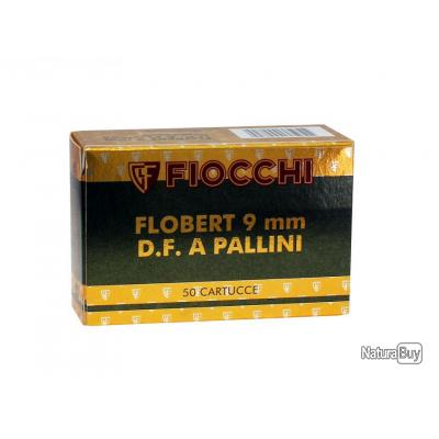 1 boite de 50 Cartouches Fiocchi cal.9m/m flobert plomb n°7.5