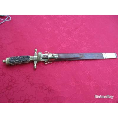 dague de chasse et de venerie
