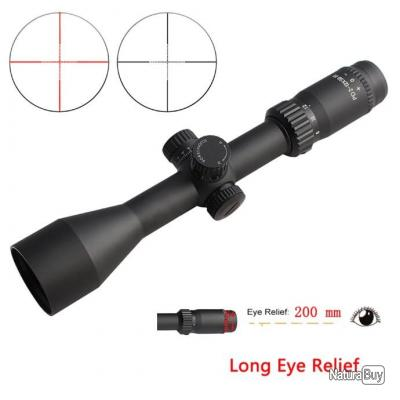 SPINA tactique PD 2-12x50 lunette de chasse 200mm longue portée de visée LIVRAISON GRATUITE