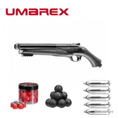 Pack Fusil Umarex® HDS 68 T4E (16 Joules) + 20 balles métaliques  + 20 x caoutchouc + 5 x co2