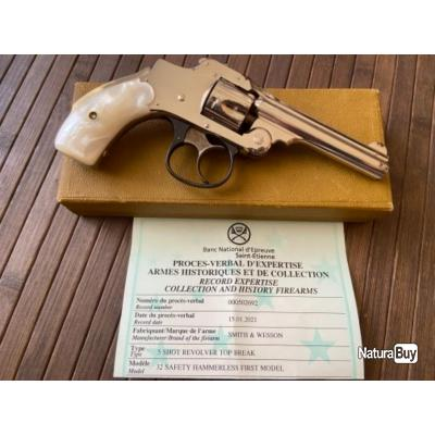 REVOLVER SMITH & WESSON 32 S&W + BOÎTE D'ORIGINE