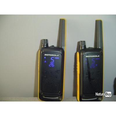 duo Talkie Walkie Motorola T 82 Extrème