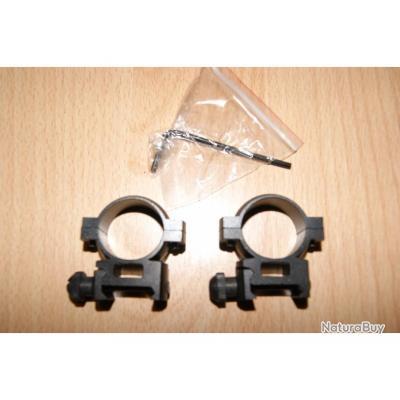 colliers BARSKA montage support lunette point rouge 25.4 Q/A 22mm - VENDU PAR JEPERCUYE (S8T240)