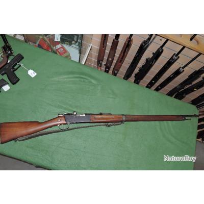 Fusil LEBEL 1886-93 Monomatricule avec un beau canon  AEG daté 1934