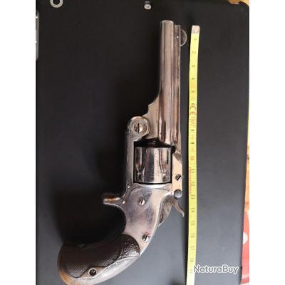 Rare Revolver Smith et Wesson model baby russian numéro 1 1/2 single action, 32 sw PN, num.7724