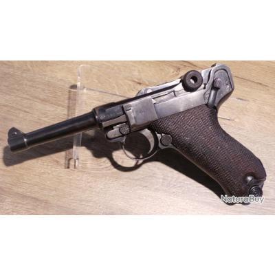 Pistolet LUGER P08 ERFURT calibre 9 para