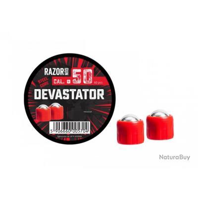 RAZORGUN BILLES DEVASTATOR METAL POUR HDR 50 X60