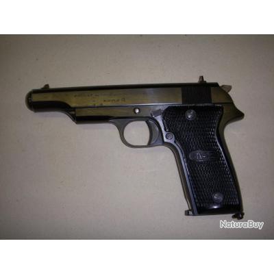 occasion : rare pistolet MAB modèle R cal 9x19 PARA en superbe état