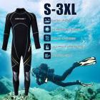 Combinaison de plongée sous-marine Néoprène Nylon 3mm thermique hiver