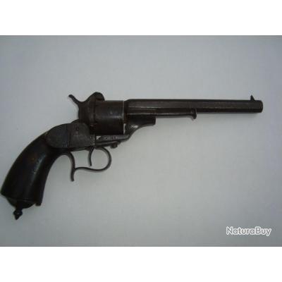 Gros revolver à broches origine inconnue