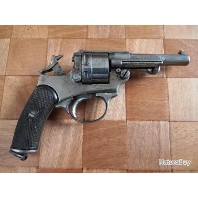 Revolver Chamelot Delvigne 1873 S1884 excellent état de fonctionnement apte au tir dernière annonce