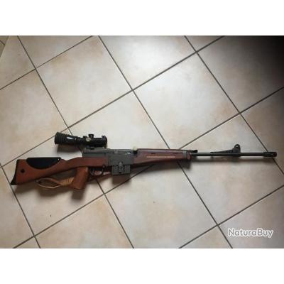 fusil 49-56 tranformé classe c coup par coup