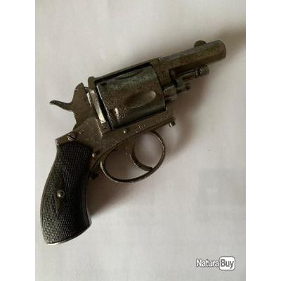 armes de collection revolver 8 mm LEB a revisée (chien percuteur) double action