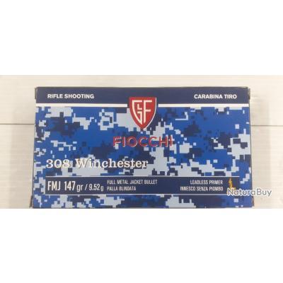 BALLE FIOCCHI FMJ CALIBRE 308 WIN !!!!!!!