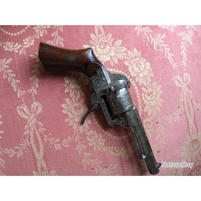 Petit revolver de poche système Lefaucheux, calibre 7mm