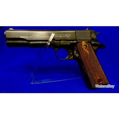 """Pistolet d'alarme COLT 1911 """"COLLECTOR"""" en 9mm - la plus belle réplique jamais réalisée (cat.D2)..."""