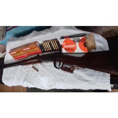 céde pour un autre achat Carabine Modèle 94 WINCHESTER 30x30 ou 7.62