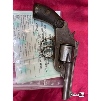 Iver and Johnson calibre 38 sw