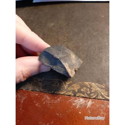Gros silex pour fusil 1777 ou brown bess, piece de fouille originale ancienne