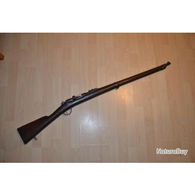 fusil gras modèle 1874 M80 réglementaire d'instruction cal 22 long rifle