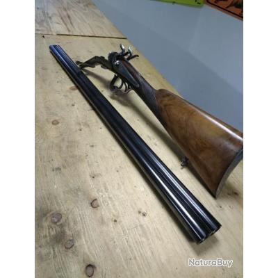 Fusil juxtaposé à broches
