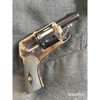 revolver vélodog hammerless HDH cal 6.35 circa 1900