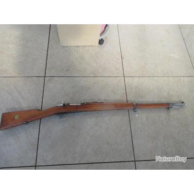 UN CARL GUSTAV M96 EN TRES BEL ETAT FABRICATION 1900