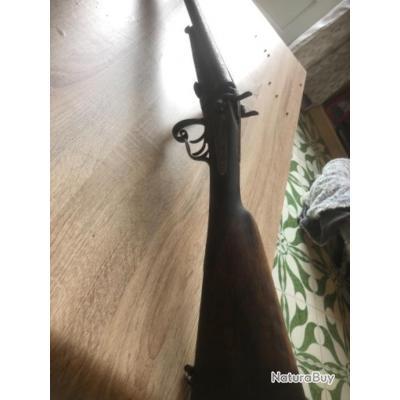 Fusil de collection à chien saint Étienne