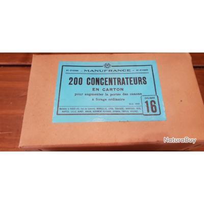 Concentrateurs calibre 16