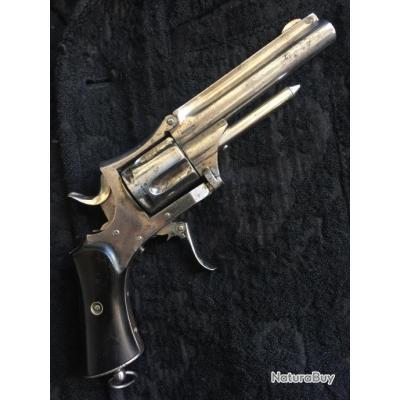 revolver Manufacture de Saint Etienne calibre 320 annulaire circa 1880