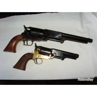 WESTERN - impressionnant revolver WHITNEYVILLE WALKER 1847 cal 44 MAGNUM poudre noire D2 vente libre