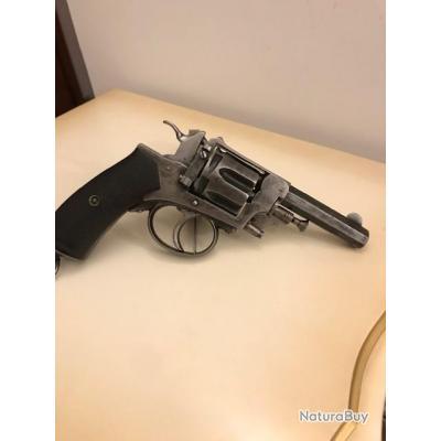 RARE Revolver 1892 Le Municipal - Manufacture d'arme de Saint Etienne