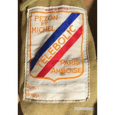 """CANNE A FOUET DE """"PEZON ET MICHEL """" TELEBOLIC. PARIS AMBOISE. Made in FRANCE ."""