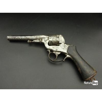 Revolver Perrin 1859 deuxième modèle en 12mm Perrin